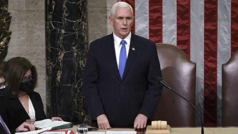SON KIYAK! Son dakika: Mike Pence'den Trump açıklaması