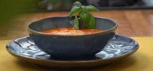 Tam kıvamında domates çorbası tarifi: Domates çorbası nasıl yapılır?