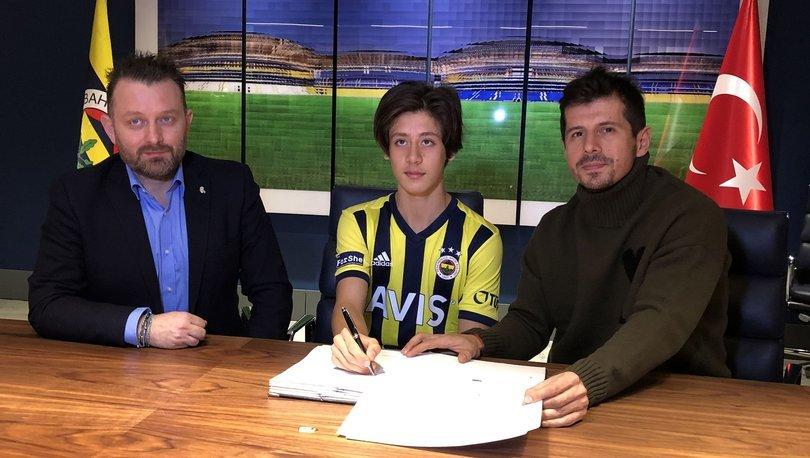 Fenerbahçe, altyapı oyuncusu Arda Güler ile 2,5 yıllık sözleşme imzaladı