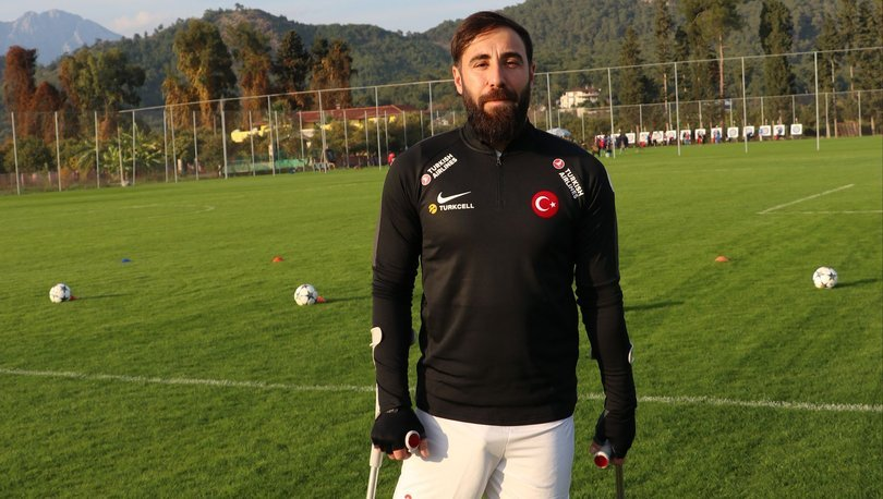 Hayali olan ay-yıldızlı formaya Ampute Milli Futbol Takımı'yla ulaştı