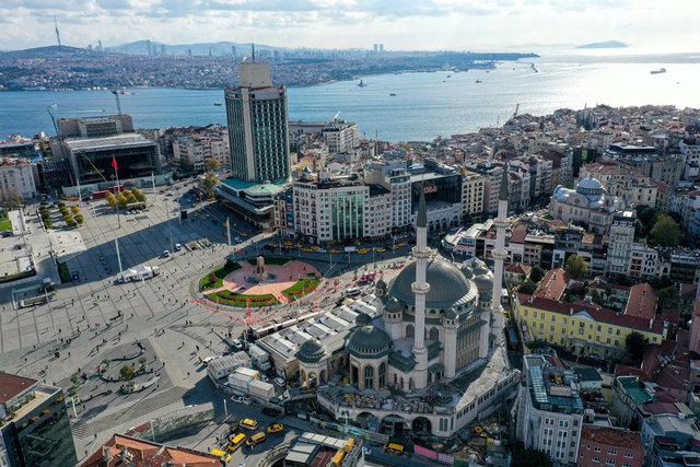 BİTİYOR! Son dakika: Taksim Camisi yüzde 95 tamamlandı - HABERLER