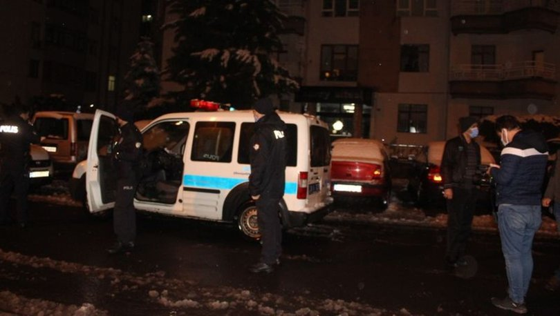 Kayseri'de hırsızlık şüphelisi, bina sakinlerince yakalandı