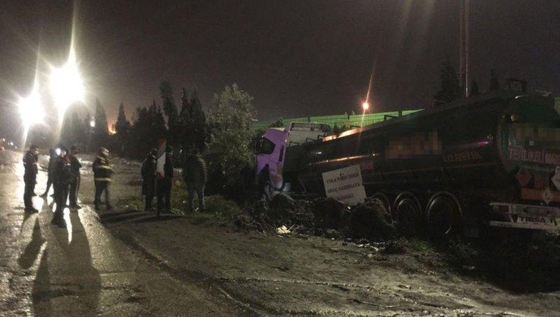 Adana'da seyir halinde kalp krizi geçiren sürücü, kazada öldü