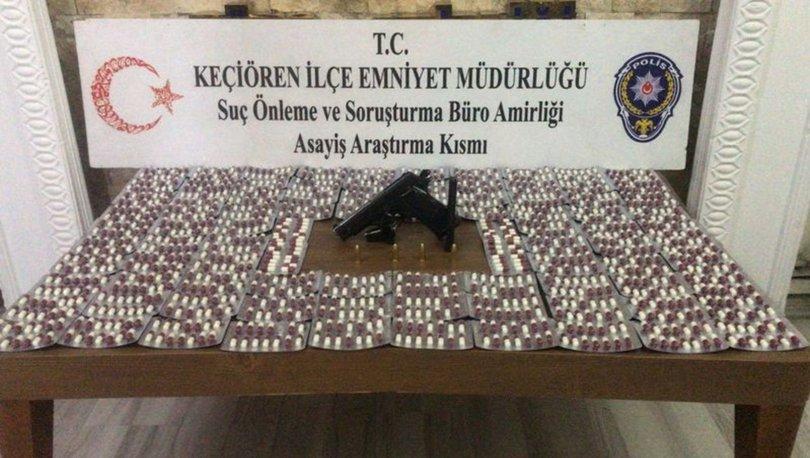 Ankara'daki uyuşturucu operasyonlarında 4 şüpheliye gözaltı