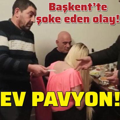 KORONA PAVYON! Son dakika: Ankara'da pavyona çevrilen eve baskın! - Haberler -