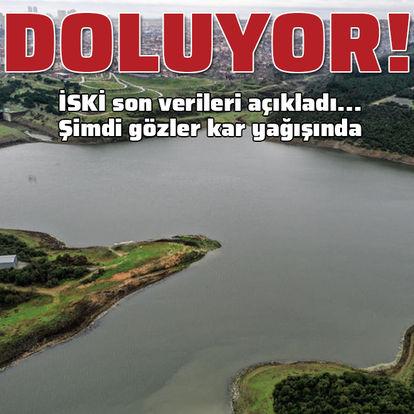 İstanbul'da barajlar doluyor! Yüzde 27'ye ulaştı