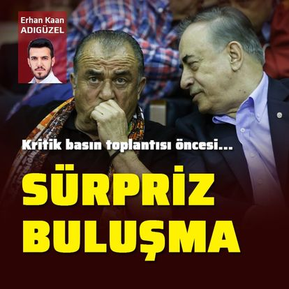 Mustafa Cengiz ve Fatih Terim buluştu!