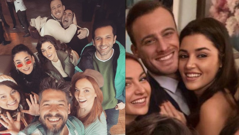Sarp Bozkurt, Hande Erçel ile Kerem Bürsin'in pozunu tiye aldı - Magazin haberleri