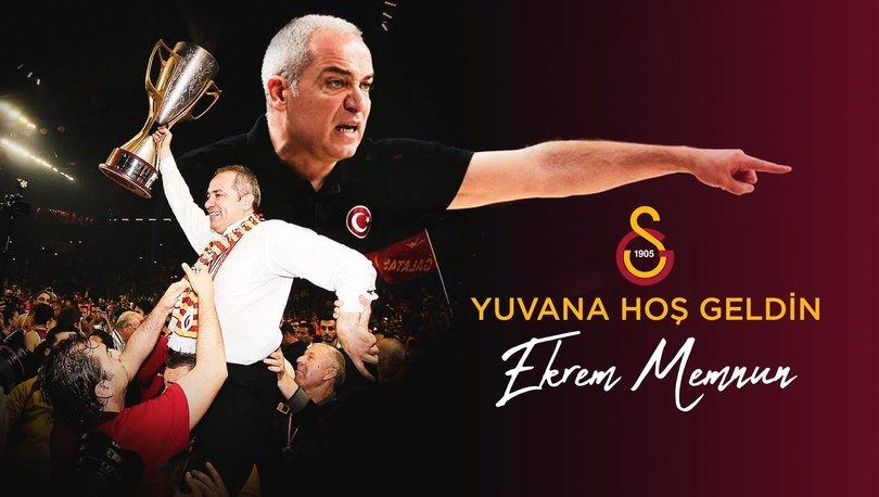 Galatasaray Erkek Basketbol Takımı'nda başantrenörlük görevine Ekrem Memnun getirildi