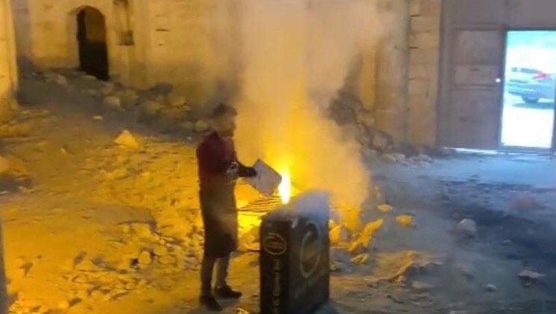 REZALET! Son dakika: Tarihi kilisede mangal yaktılar