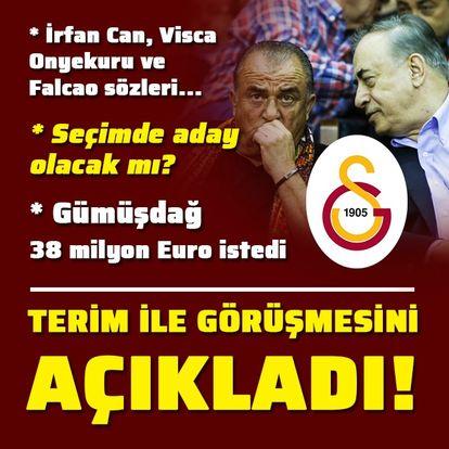 Cengiz'den Fatih Terim ve transfer sözleri