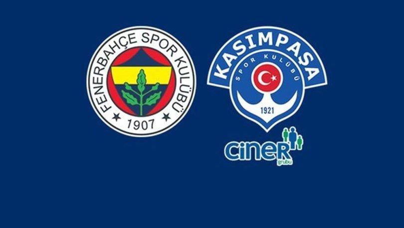 Fenerbahçe Kasımpaşa maçı hangi kanalda canlı yayınlanacak, şifresiz mi? - FB maçı ne zaman, saat kaçta? İlk 1