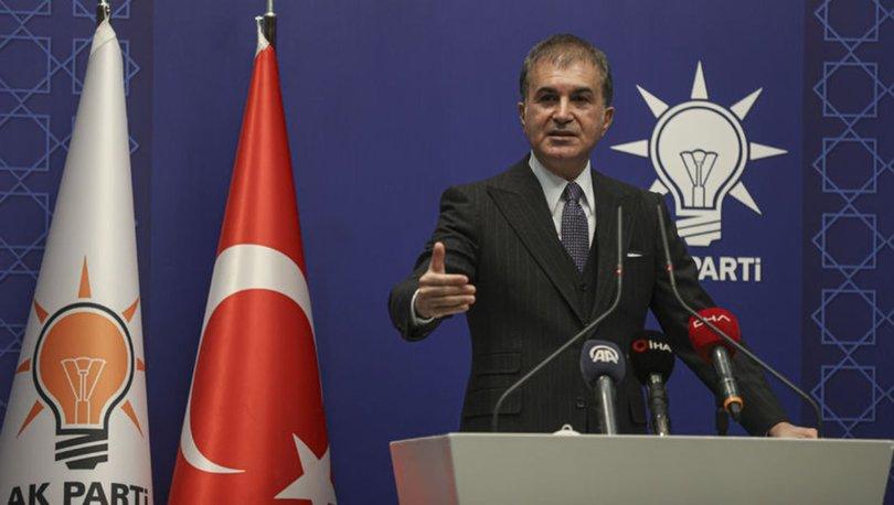 Son dakika haberi AK Parti Sözcüsü Çelik'ten önemli açıklamalar