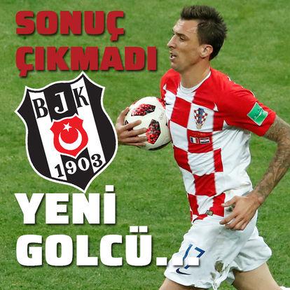 Mandzukic'te sonuç çıkmadı! Yeni golcü...