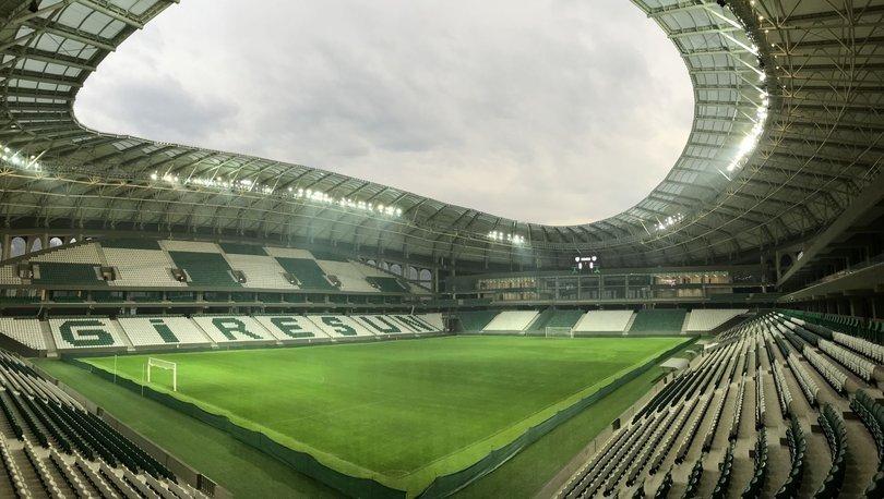Giresun'da Çotanak Stadı için geri sayım başladı