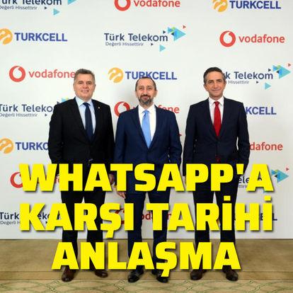 WhatsApp'a karşı tarihi anlaşma