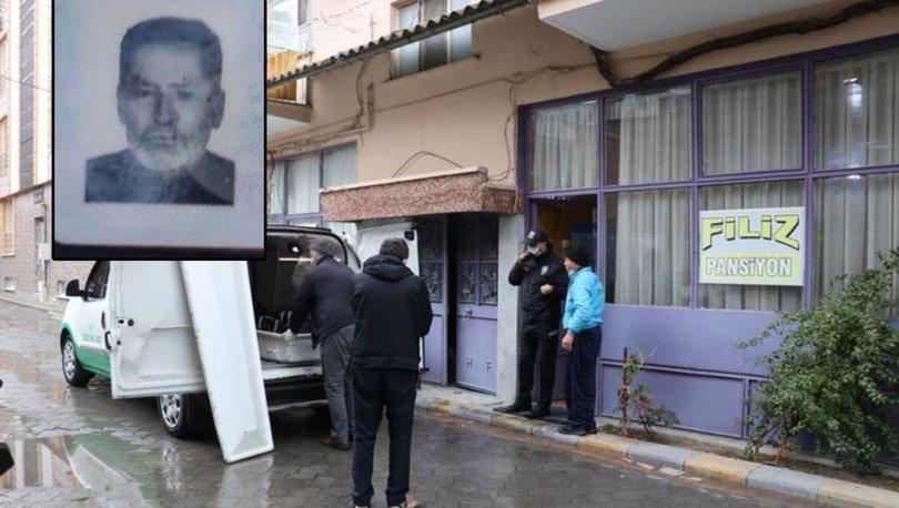 Pansiyona yerleştirilen evsiz, ölü bulundu
