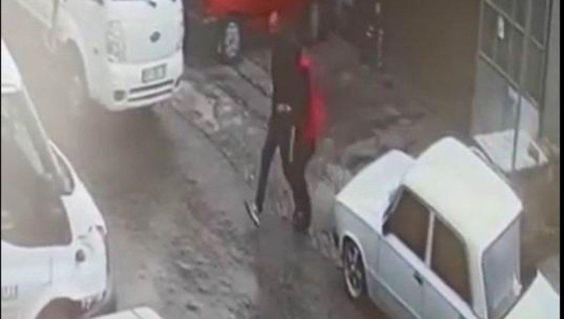 Bacanak ve kayınpeder cinayeti kamerada