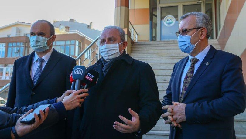 TBMM Başkanı Mustafa Şentop'tan