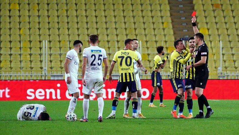 Fenerbahçe'den VAR tepkisi
