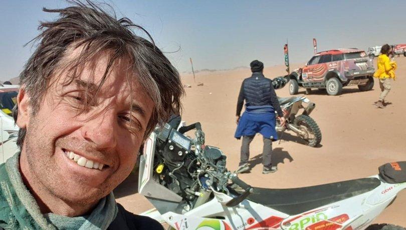 Dakar Rallisi'nde kaza yapan motosikletçi Cherpin öldü