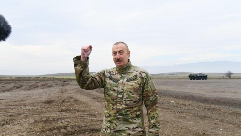 SON DAKİKA: Aliyev'den zafer sonrası bir ilk! Haberler
