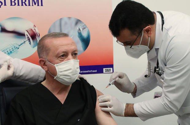 İşte Erdoğan'a aşı yapan o doktor