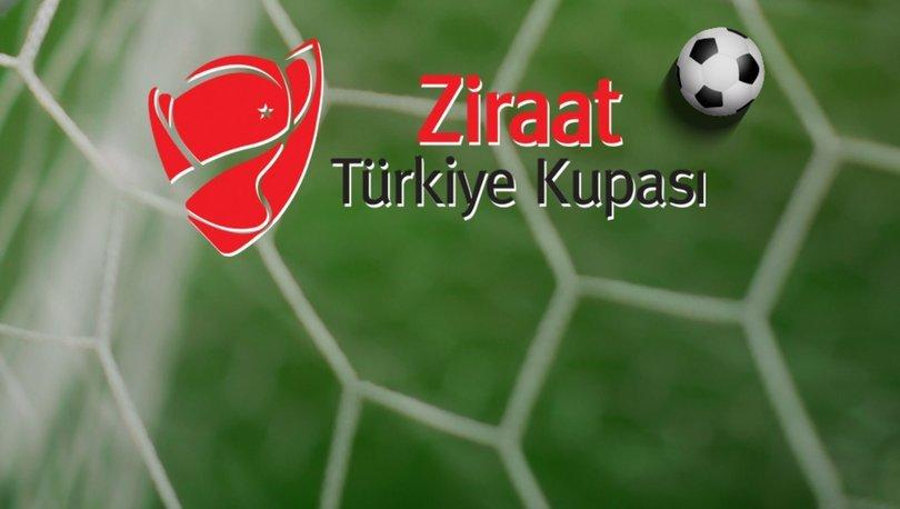 SON DAKİKA | Ziraat Türkiye Kupası çeyrek final eşleşmeleri belli oldu!