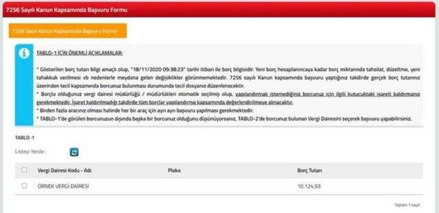 Vergi borcu yapılandırma e-Devlet başvuru ekranı: Vergi borcu yapılandırma nasıl yapılır, adım adım anlatım