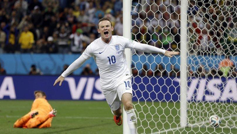İngiltere futbolunun tarihine geçen golcü: Wayne Rooney