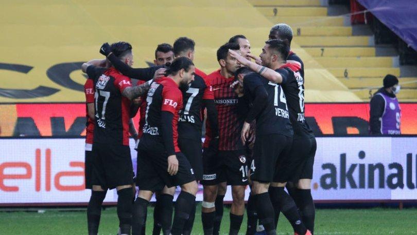 Gaziantep FK: 2 - Kayserispor: 1 MAÇ SONUCU