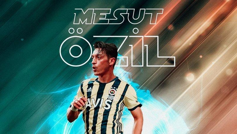 DEV TRANSFER! Mesut Özil Fenerbahçe'de! Son dakika transfer haberleri