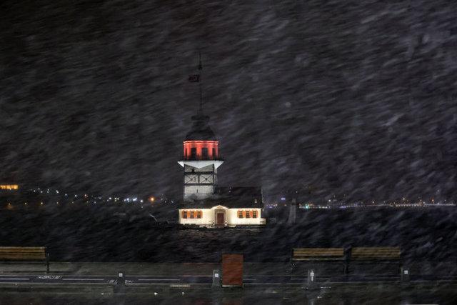 SON DAKİKA! İstanbul kara kavuştu! İşte o manzaralar - Haberler