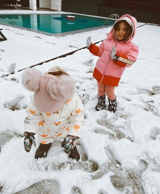 KAR SEVİNCİ: Ünlü isimlerden SON DAKİKA kar paylaşımları - Magazin