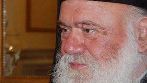Yunan Başpiskoposa tepki