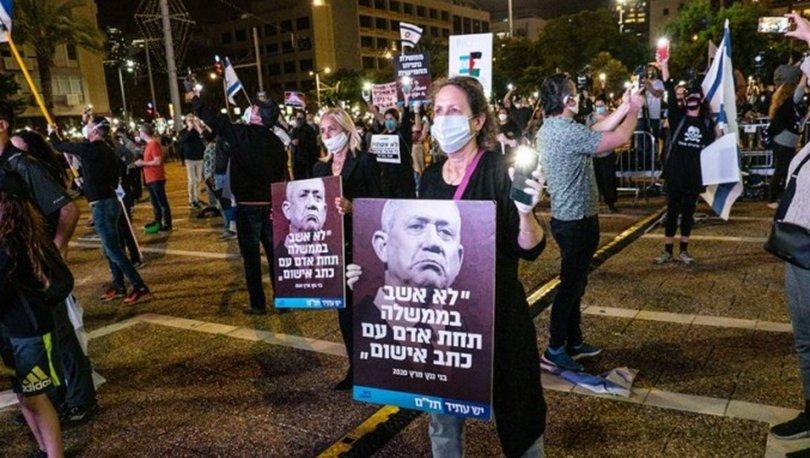 İsrailliler Netanyahu karşıtı protestolarını sürdürüyor