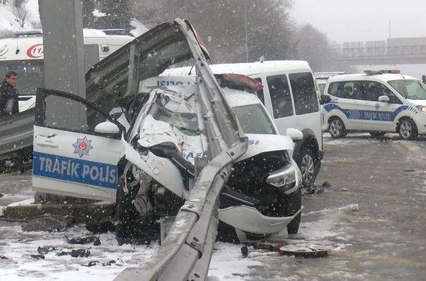 FSM'de polis kazası! 3 polis hastaneye kaldırıldı