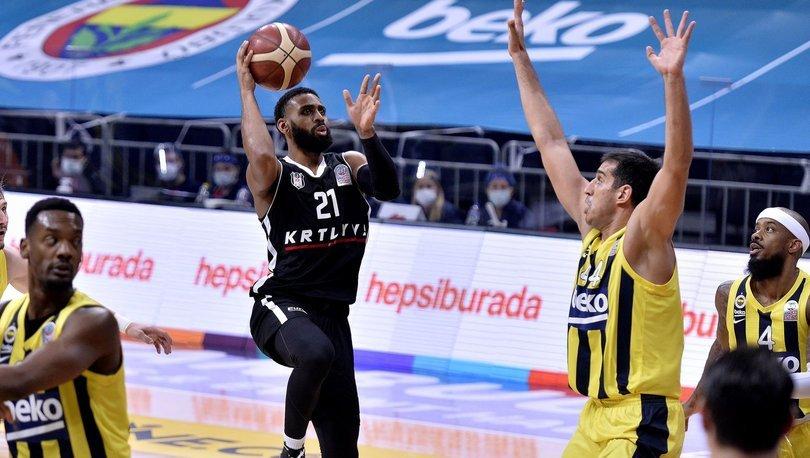Fenerbahçe Beko: 83 - Beşiktaş: 92 MAÇ SONUCU