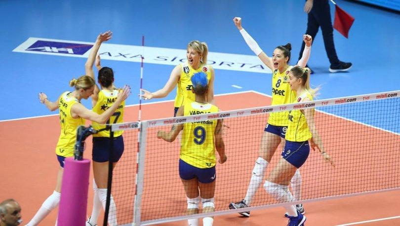 Fenerbahçe Opet: 3 - Eczacıbaşı VitrA: 1