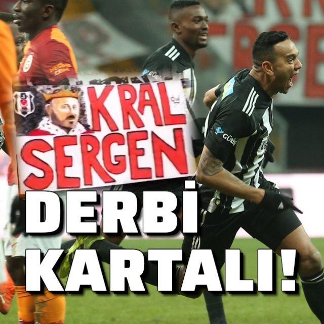 Derbinin kazananı Kartal!