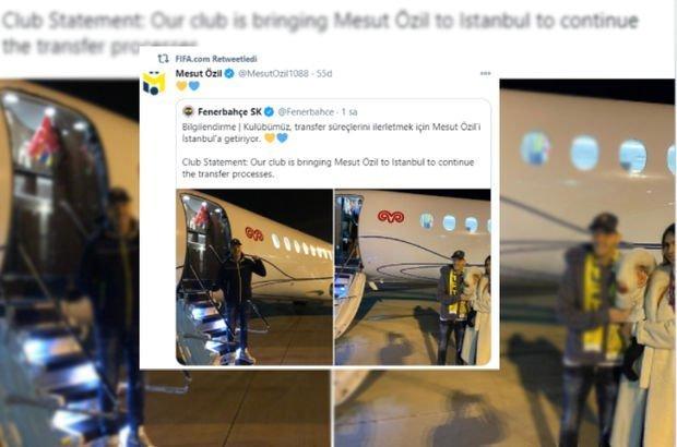 FIFA, Mesut Özil'i paylaştı