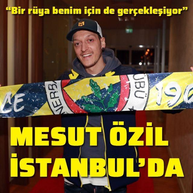 Mesut Özil, İstanbulda!