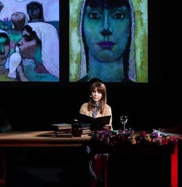 Gülten Akın şiir dinletisi İş Sanat'ta