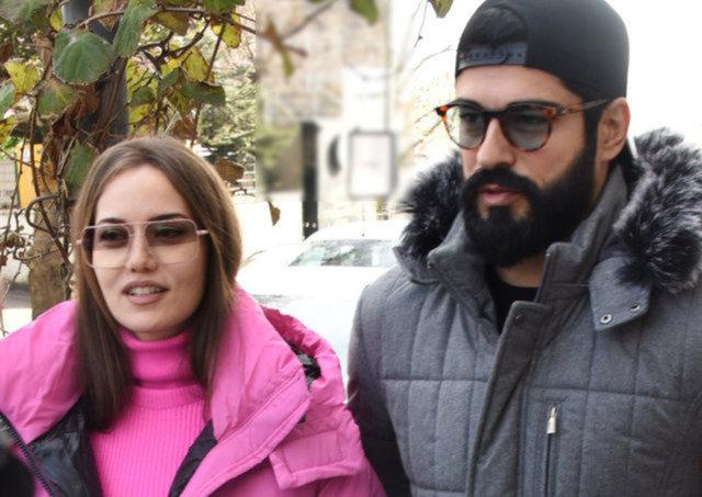Burak Özçivit-Fahriye Evcen çiftinin Boğaz turu - Magazin haberleri