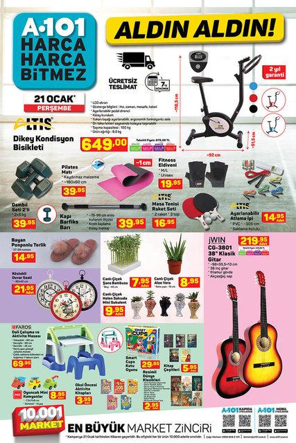 A101 BİM aktüel ürünler kataloğu! 19-21 Ocak A101 BİM aktüel ürünler kataloğu! İşte tam liste yayında