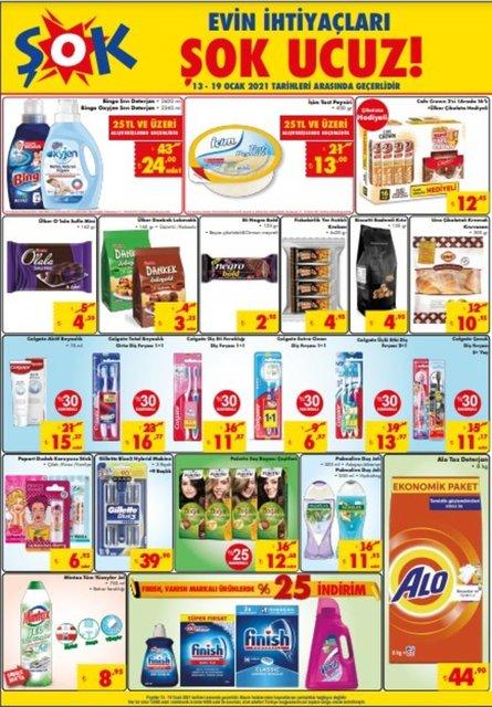 19 Ocak ŞOK Aktüel ürünler kataloğu! ŞOK'da bu hafta neler var? ŞOK haftanın indirimli ürünlerİ