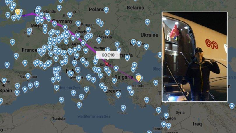 Mesut Özil'in uçağı CANLI YAYINda 240 bin kişi tarafından izlendi!