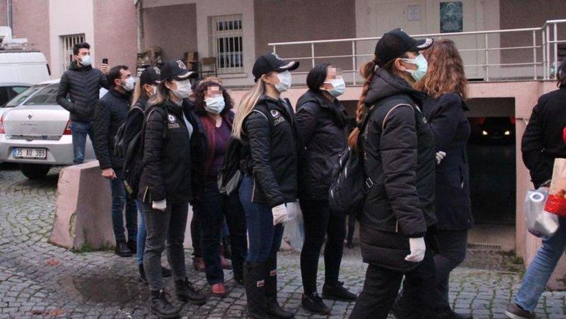 İzmir merkezli terör operasyonunda 5 tutuklama