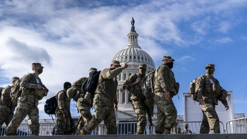 FBI, Washington'daki tüm Ulusal Muhafızları inceliyor!