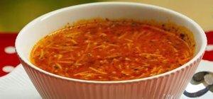 Kolay şehriye çorbası tarifi: Tel şehriye çorbası yapımı